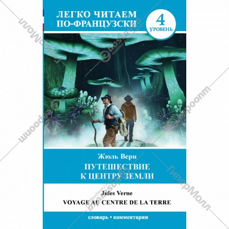 Книга «Путешествие к центру Земли».