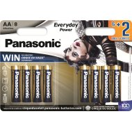 Элемент питания «Panasonic» Everyday LR6EPS/8BW, 8 шт.
