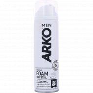 Пена для бритья «Arko» crystal с белой глиной, 200 мл