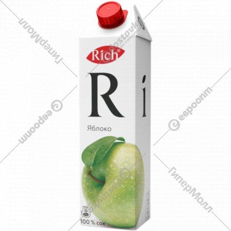 Сок «Rich» яблочный 1 л.