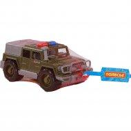 Игрушка автомобиль - джип военный «Защитник» №1, патрульный.