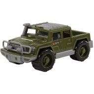 Игрушка автомобиль - пикап «Защитник» военный.