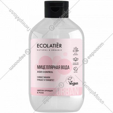 Мицеллярная вода «Ecolatier» Urban, Цветок орхидеи и роза 400 мл
