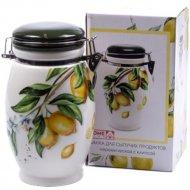 Банка для сыпучих продуктов «Home Line» Лимоны, 1 л, HC5006A-Q51