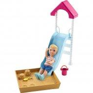Кукла «Barbie» Игра с малышом, FXG96