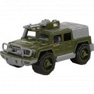 Игрушка автомобиль - джип «Защитник» №1, военный.