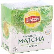 Чай зеленый «Lipton» по-японски, 20 пакетиков.