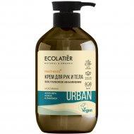 Крем для рук и тела «Ecolatier Urban» алоэ, кокос и пантенол, 400 мл.