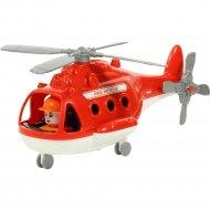 Игрушка вертолет «Альфа» пожарный.