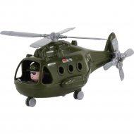 Игрушка вертолет «Альфа» военный.