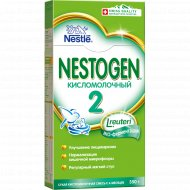 Смесь сухая «Nestogen» кисломолочный 2, 350 г.