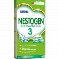 Смесь сухая «Nestogen 3» кисломолочная, 350 г.