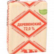 Спред растительно-жировой «Деревенский» 72%, 180 г.