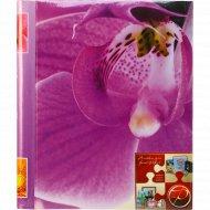 Фотоальбом магнитный «Цветы» 10 листов, 23x28 см.