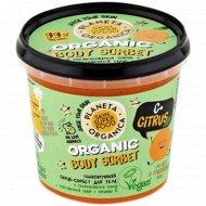 Скраб-сорбет для тела «C+ Citrus» тонизирующий, 485 гр.