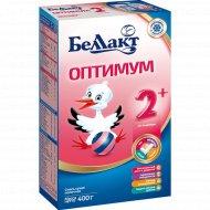 Смесь сухая молочная «Беллакт Оптимум 2+» 400 г.