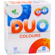 Концентрированный стиральный порошок «DUO Колор» 1 кг.