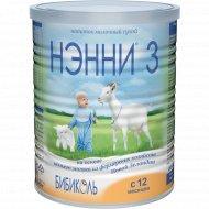 Напиток сухой молочный «Бибиколь» Нэнни-3, 800 г