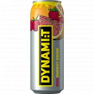 Напиток «Dynami:T» Red Energy Drink, 0.5 л.