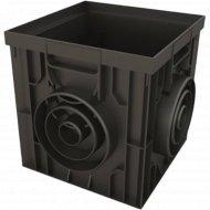 Дождеприемник «Ecoteck» пластиковый 300х300 черный.
