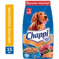 Корм для собак «Chappi» мясное изобилие, 15 кг.