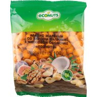 Арахис в чипсовой оболочке «Econuts» со вкусом паприки 100 г.