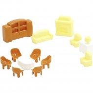 Набор мебели для кукол «Полесье» №4, 13 элементов.