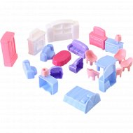 Набор мебели для кукол «Полесье» №5, 21 элемент.
