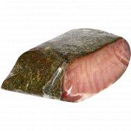 Продукт из свинины «Пачастунак от тещи» сыровяленый, 1 кг., фасовка 0.2-0.4 кг