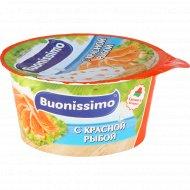 Сыр с творогом «Buonissimo» с красной рыбой, 120 г.