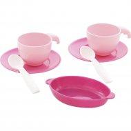 Набор детской посуды на две персоны «Полесье» 7 элементов.