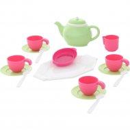 Набор детской посуды на четыре персоны «Полесье» 17 элементов.