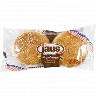 Булочки с кунжутом для гамбургеров 4 шт, 300 г.