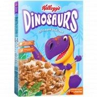 Готовый завтрак из злаков «Kellogg's»Dinosaurs карамельные лапы,220 г.