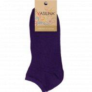 Носки женские «Vasilina» фиолетовые, размер 23-25.