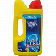 Порошок для посудомоечных машин «Finish» Calgonit, Classic, лимон, 1 кг