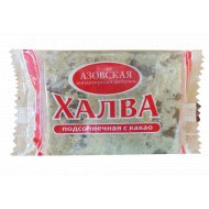 Халва «Азовская кондитерская фабрика» с какао, 350 г.