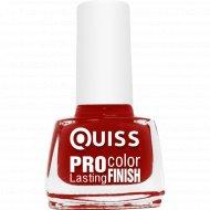 Лак для ногтей «Quiss» Pro Color, тон 32, 6 мл.