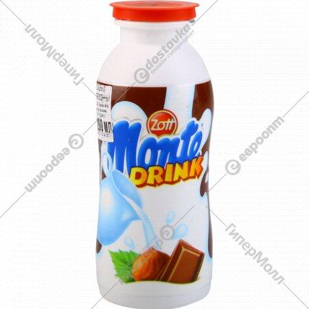Напиток молочный «Цотт Монте» с шоколадом и лесными орехами, 200 мл.