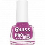 Лак для ногтей «Quiss» Pro Color, тон 38, 6 мл.