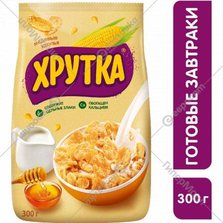 Хлопья медовые «Хрутка» 300 г.