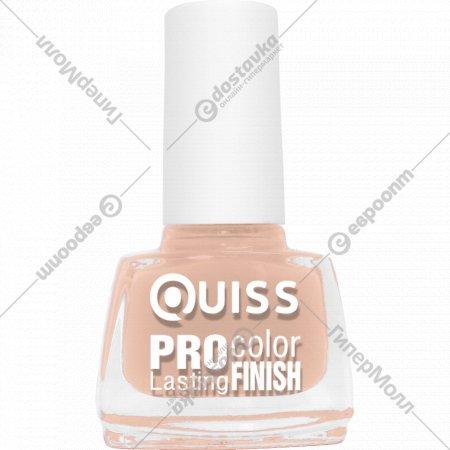 Лак для ногтей «Quiss» Pro Color, тон 39, 6 мл.