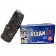Мыльные подушечки «Clean it» из стальной ваты.