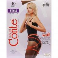Колготки женские «Conte» Style, Bronz, 90 den.