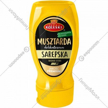 Горчица «Roleski» сарептская, консервированная, пастеризованная, 275 г