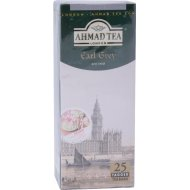 Чай чёрный «Ahmad Tea» с ароматом бергамота, 25 пакетиков.
