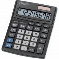 Калькулятор настольный «Citizen» 8 разрядов, CMB801-BK