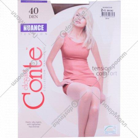 Колготки женские «Conte» Nuance Bronz.