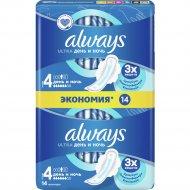 Ночные гигиенические прокладки «Always» ultra, 14 шт.