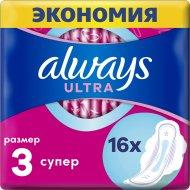 Гигиенические прокладки «Always» Ultra, супер плюс, 16 шт